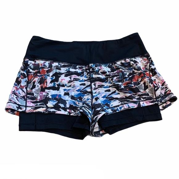 Lululemon Break Free Culture Clash Shorts